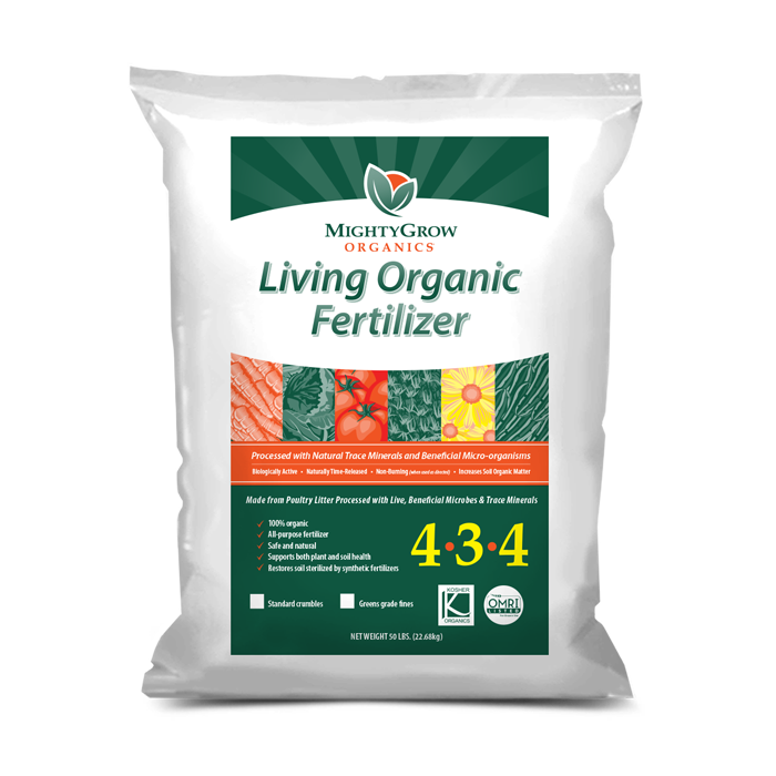 Acid based fertilizer for Organic soil meaning