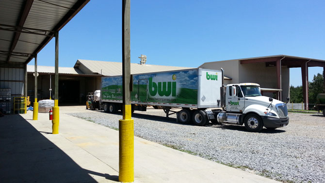 BWI Companies distributes MightyGrow Living Organic and AgBlend pelletized poultry litter fertilizers